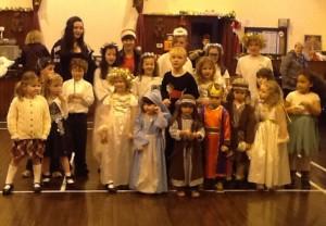 002 Nativity Team in Hall 20131222