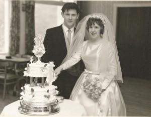 Geo and Mgt sibbald wedding day